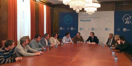 Una imagen de la reunión este martes.