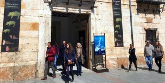 Oficina de turismo en El Burgo de Osma. /SN