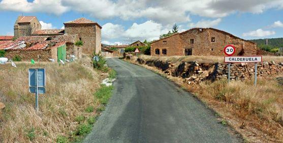 Imagen de la entrada a Calderuela./GM