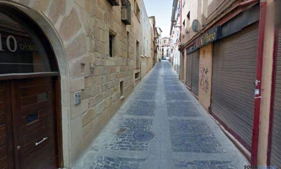 La calle Real, en el Casco antiguo./SN