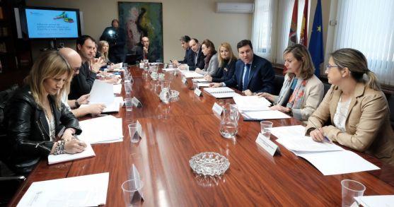 Reunión del Consejo Regional de Seguridad y Salud Laboral este viernes. /Jta.