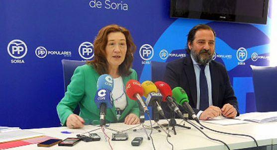 María José Heredia y José Manuel Hernando este miércoles. /SN