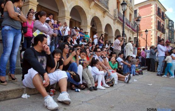 Un encuentro multicultural en Soria. /SN