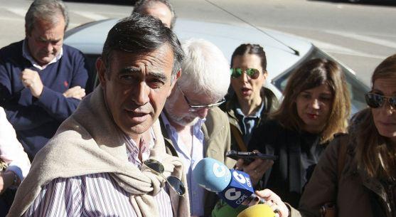 Antonio Pardo ante los medios informativos. /SN