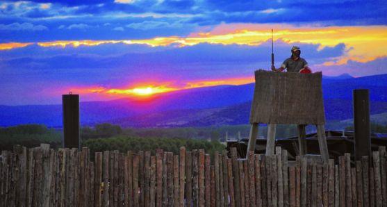 Una recreación del asedio de Numancia. /SN