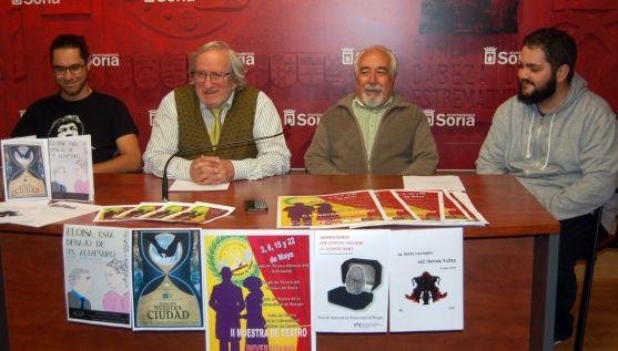 Fernández (izda.), Bárez, Andrés y Callejas./Ayto.