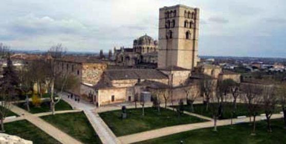 La catedral de Zamora.