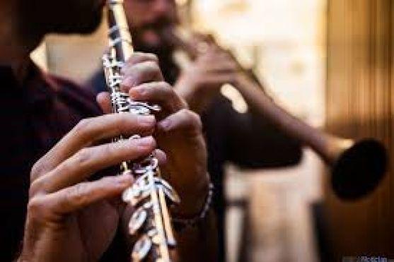 Detalle de un instrumento musical/ DA