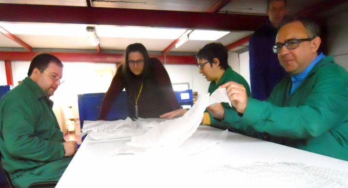 Centro especial de empelo de ASOVICA, en Soria. /SN