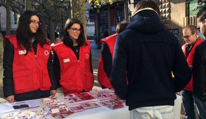 Voluntarios de Cruz Roja Soria./SN