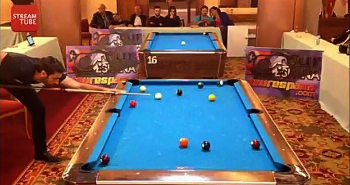 Del Santo, en el torneo de Zaragoza.