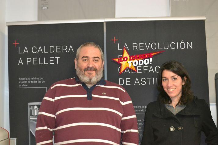 Daniel Martín y Violetta Paolinelli.