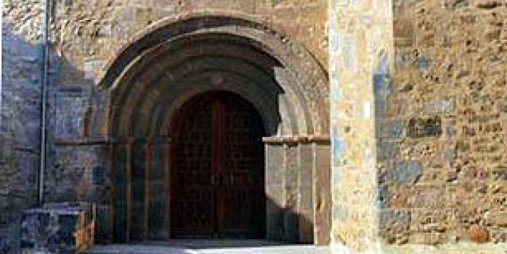 Entrada al museo de Arte Sacro de Ágreda.