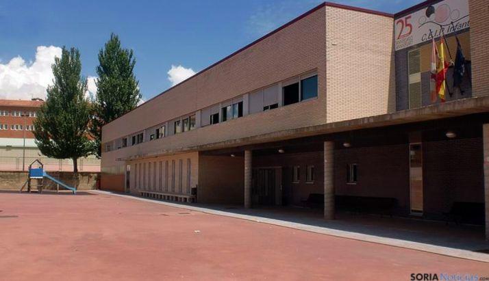 El CEIP Infantes de Lara, en Soria.