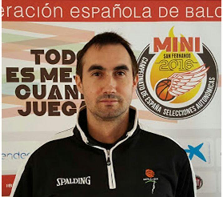 Delgado, entrenador del FDR y de la Selección.