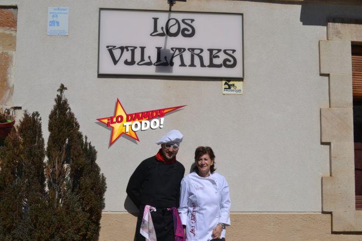 J. Carlos García y Melania Cascante.
