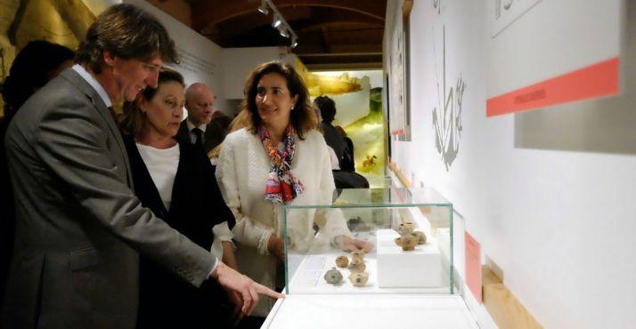 Carlos Martínez, Marian Arlegui y Josefa García Cirac. /Jta.