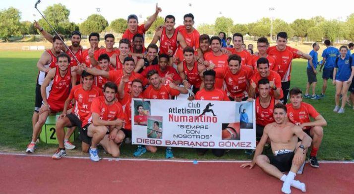 Atletas del Numantino. /CAN