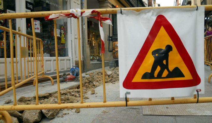 Una calle en obras. /SN