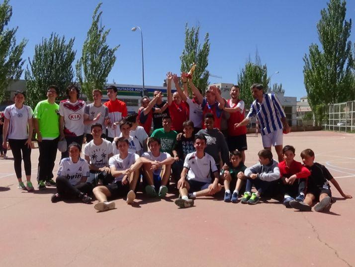 Participantes en el torneo. /IES Castilla.