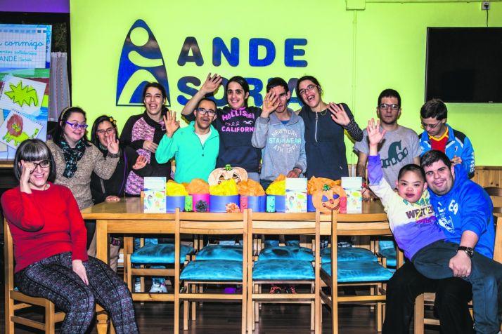 Foto de grupo en ANDE/ D.A.