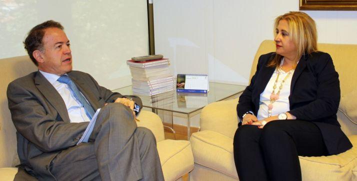 Luis Lafuente y Yolanda de Gregorio. /S. de G.