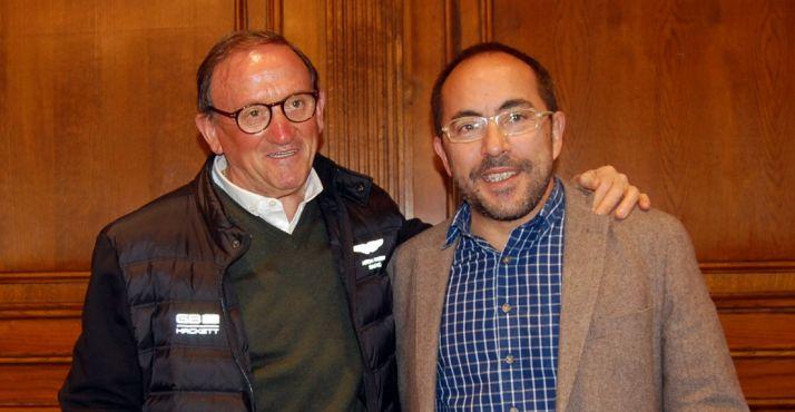 Francisco Rubio (izda.) y Luis Rey./Dip.