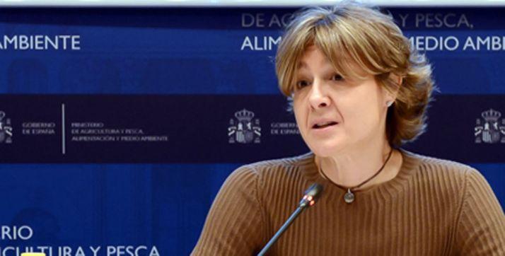 Isabel G. Tejerina, titular del MAPAMA.