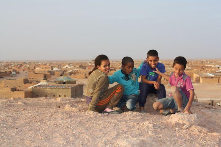 Foto 1 - Carta de una niña saharaui