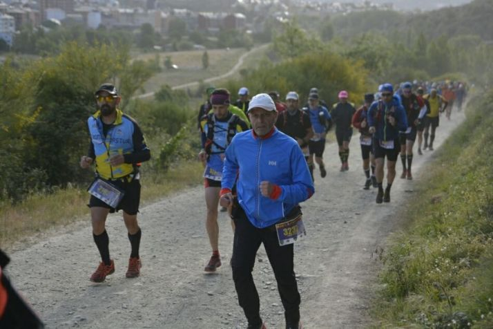 Jesús Carmona durante la carrera/ JC