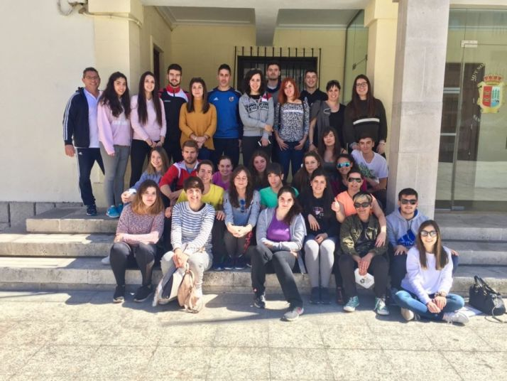 Alumnos del curso de monitores juveniles. /Dip.