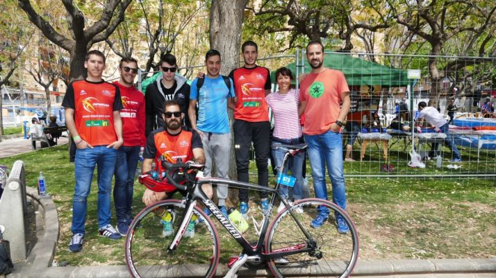 Algunos de los participantes del Deporama Joven in Triatlón Soriano/ DJITS