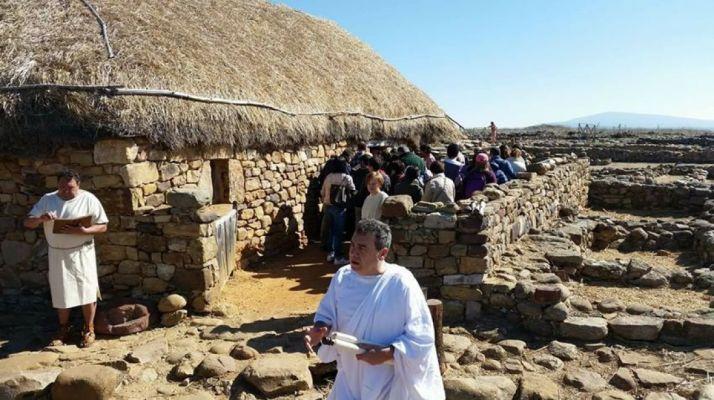 Recreación de la Asociación Tierraquemada en Numancia. /ACC Tierraquemada