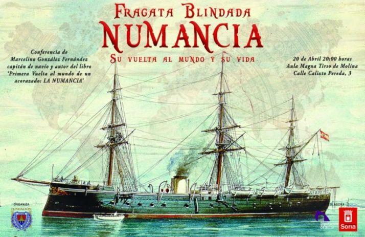 Foto 1 - Conferencia sobre la Fragata Numancia, el 20 de abril en Soria