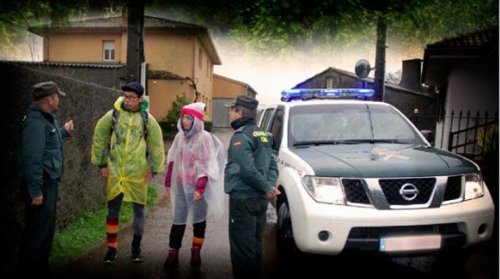 Foto 1 - La Guardia Civil intensifica los servicios con motivo del Plan de Seguridad Jacobea 2017.