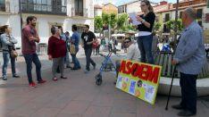 Imagen de la presencia de ASOEM este miércoles en Granados. /SN