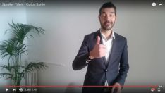 Carlos Barrio en el vídeo.