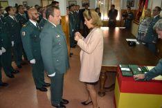 Imagen del acto solemne de aniversario de la Guardia Civil en Soria. /SN