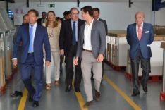 Visita de Herrera a Ólvega
