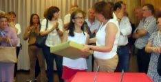 Imagen de la entrega de premios. /SN
