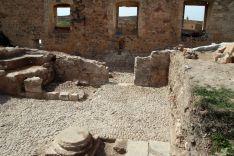 Imagen de la zona excavada./AACB