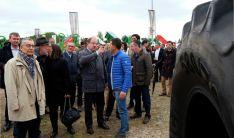 Hoy se inauguraba la Feria de Maquinaria de Lerma (Burgos). /Jta.