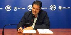 El concejal del PP Javier Martín.