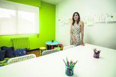 Lorena en su despacho.