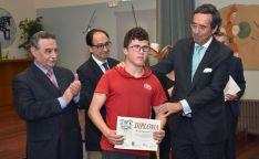 Uno de los premiados, del CEE Santa Isabel./ Jta.
