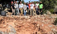 Imagen de archivo de las excavaciones en uno de los campamentos. /Jta.
