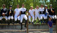 El equipo de El Robledal.