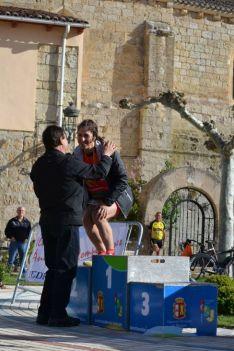 Foto 2 - Lucas Izquierdo y Mireya Calvo, campeones de CyL de Duatlón Junior