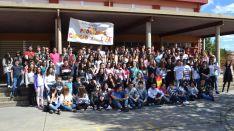 Grupo de alumnos y ex alumnos del programa British Council de los Doce Linajes. /SN