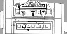 Plano del mosaico/ JCyL